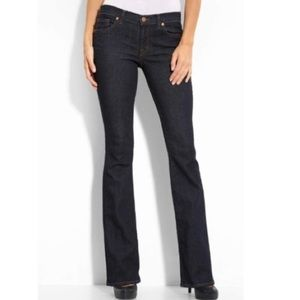 J Brand Bailey Boot Cut Stretch Jeans Pure 26